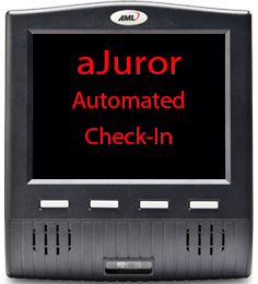 aJuror Automated Juror Check in